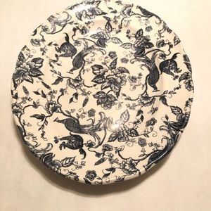 Antique Chinoisere Ravensdale Oval Plate